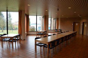 Salle à manger de l'unité de Soins 61