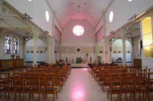 Vue d'intérieur de la chapelle