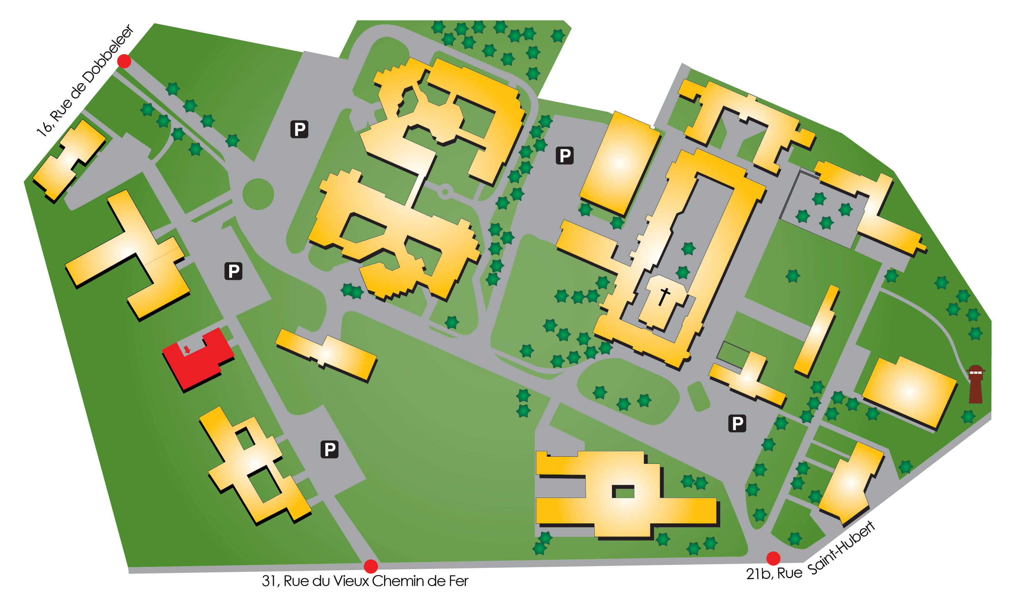 Plan d'accès Siloé