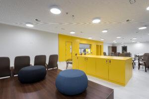Salle de séjour de l'unité de soins 11